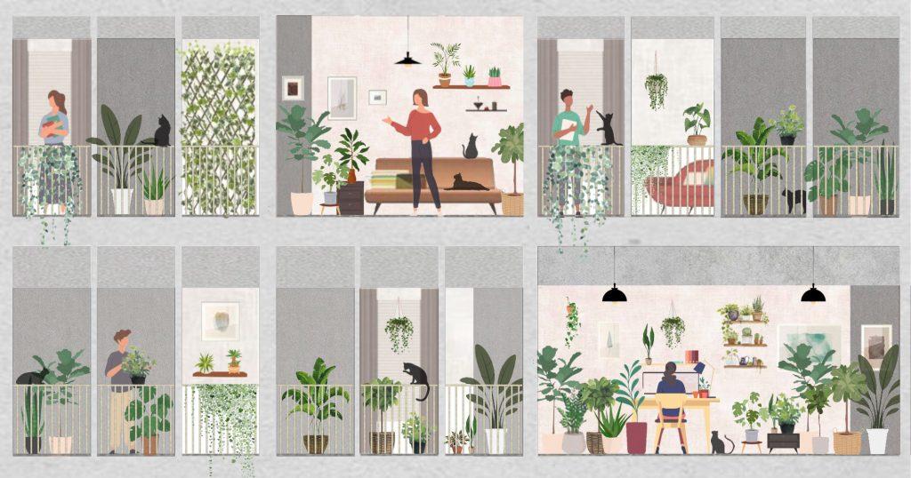 3 องค์ประกอบทางธรรมชาติเพื่อการสร้างพื้นที่สีเขียวในอาคาร  จาก Oliver Heath