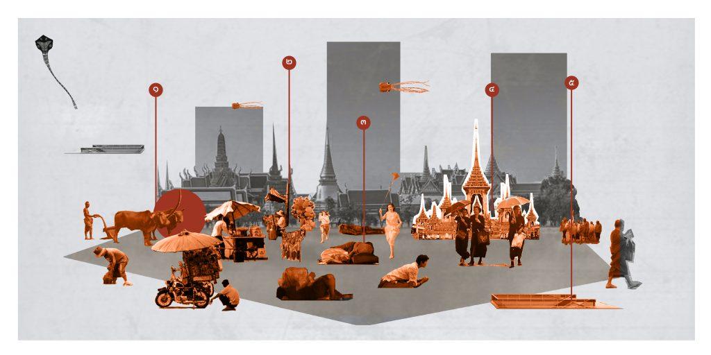 จากทุ่งพระเมรุสู่ท้องสนามหลวง ทบทวนความหมายของสนามหลวงในห้วง 200 ปี