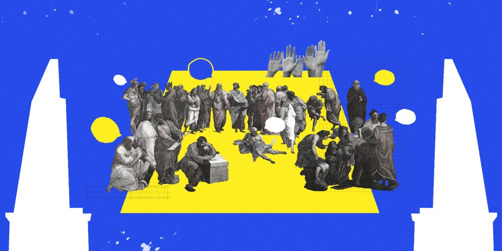 สวน ลานกว้างและจัตุรัส ประชาธิปไตยของพื้นที่สาธารณะที่มากกว่าการประท้วง