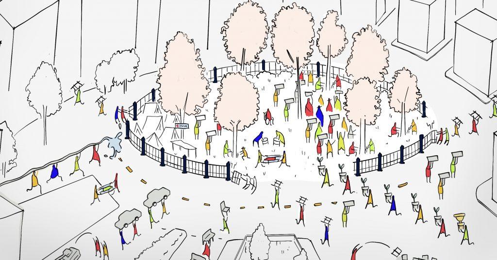 สร้างสังคมประชาธิปไตยผ่านการสร้างพื้นที่สาธารณะ