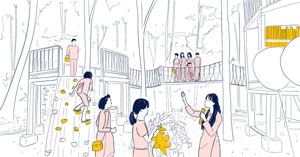เรามีสวนสำหรับเด็กผู้หญิงรึยัง? รู้จักสวนเมืองย่างกุ้งที่ออกแบบโดยเด็กผู้หญิง